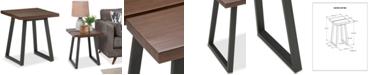 Simpli Home CLOSEOUT! Tildan End Side Table