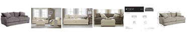 Furniture Rhyder 88'' Fabric Sofa, Created for Macy's