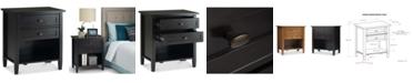 Simpli Home Burbank Bedside Table
