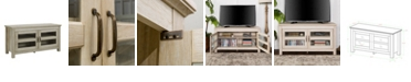 "Walker Edison 44"" Wood TV Media Stand Storage Console"