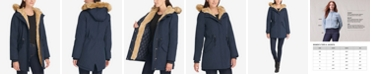 Levi's Women's Arctic Cloth Faux-Fur-Trim Parka