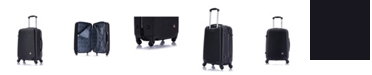 """InUSA Royal 20"""" Lightweight Hardside Spinner Carry-on Luggage"""