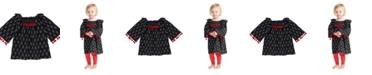 Masala Baby Baby Girl's Ekta Ikat Dress