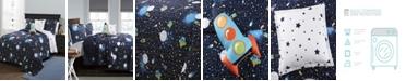 Lush Decor Universe Reversible 4-Piece Twin Quilt Set
