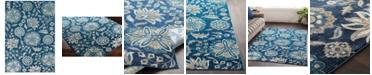 Surya Aura Silk ASK-2335 Sky Blue 2' x 3' Area Rug
