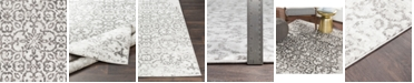 """Abbie & Allie Rugs Abbie & Allie Rugs MNC-2306 Charcoal 18"""" Area Rug Swatch"""