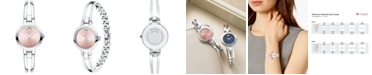 Movado LIMITED EDITION Women's Swiss Amorosa Stainless Steel Bangle Bracelet Watch 24mm, Created for Macy's
