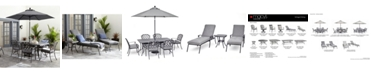 Furniture Vintage II Outdoor Cushion Chair Dining Collection, Created for Macy's