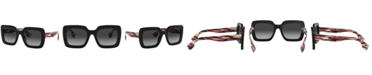 Burberry Polarized Sunglasses, BE4284 52