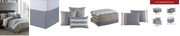 Hallmart Collectibles Jacques 7-Pc. Comforter Sets