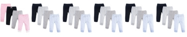 Luvable Friends Tapered Ankle Pants, 4-Pack, 0-24 Months