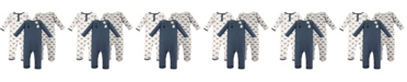 Hudson Baby Boys and Girls Cotton Coveralls