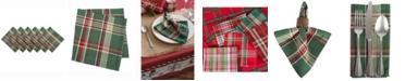 Design Import Plaid Napkin, Set of 6