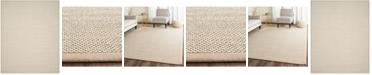 Safavieh Natural Fiber Marble and Linen 8' x 10' Sisal Weave Area Rug
