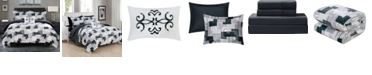 Chic Home Millennia 6 Piece Twin Bed In a Bag Comforter Set