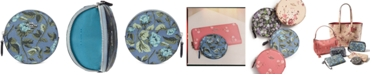 COACH Floral Round Coin Purse