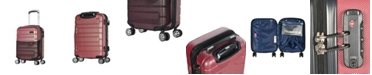 """Olympia USA Nema 18"""" Under the Seat Carry-On PC Hardcase Spinner"""
