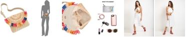 INC International Concepts I.N.C. Straw Fringe Belt Bag, Created for Macy's