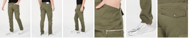 INC International Concepts I.N.C. Men's Slim-Straight Fit Cargo Pants, Created for Macy's