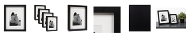DesignOvation Macintyre Wood Photo Frame, Set of 4