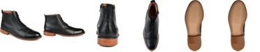 Thomas & Vine Men's Malcom Cap Toe Ankle Boots