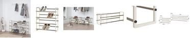 TRINITY Basics 2- Tier Expandable Shoe Rack, Pack of 2