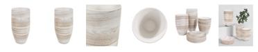 Howard Elliott Desert Sands Tapered Ceramic Vase, Large