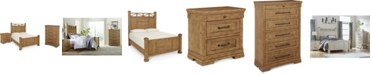 Klaussner Trisha Yearwood Coming Home Post Bedroom Collection 3-Pc. Set (King Bed, Nightstand & Chest)