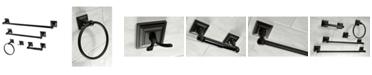 Kingston Brass Serano 5-Pc. Bathroom Accessory Set in Black