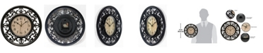 Infinity Instruments Round Wall Clock