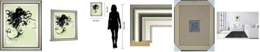 "Classy Art Star II by Oksana Leadbitter Framed Print Wall Art, 22"" x 26"""