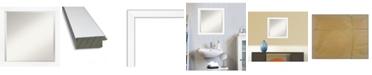"Amanti Art Cabinet Framed Bathroom Vanity Wall Mirror, 23.25"" x 23.25"""