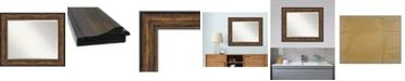 """Amanti Art Ballroom Framed Bathroom Vanity Wall Mirror, 35.5"""" x 29.50"""""""