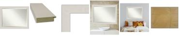 "Amanti Art Rustic Plank Framed Bathroom Vanity Wall Mirror, 45.38"" x 35.38"""