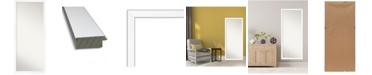 """Amanti Art Cabinet Framed Floor/Leaner Full Length Mirror, 27.25"""" x 63.25"""""""