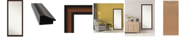 "Amanti Art Yale Framed Floor/Leaner Full Length Mirror, 27.38"" x 63.38"""