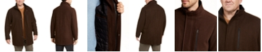 Calvin Klein Men's Big & Tall Long Open Bottom Car Coat