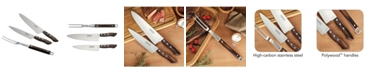 Tramontina 3 Piece Chef's Knife Set and Grill Fork