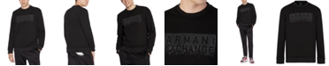 A|X Armani Exchange Men's Beaded Logo Sweatshirt