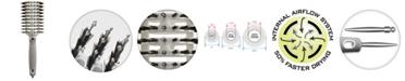 "Olivia Garden Ceramic Ion Turbo Vent Combo CITV-COGD Hair Brush, 3 1/4"" Grande"