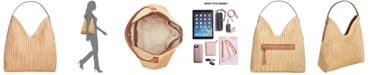 INC International Concepts INC Bonniee Straw Hobo, Created For Macy's