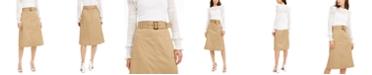 INC International Concepts INC Utility Midi Skirt, Created for Macy's