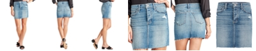 Sam Edelman Denim The Jenny Denim Mini Skirt