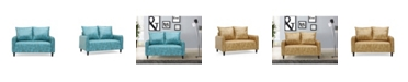 Us Pride Furniture Jordyn Morden Loveseat
