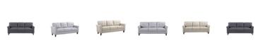 Us Pride Furniture Kouchouk Mid Century Sofa