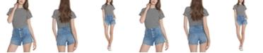 Vigoss Jeans Button-Fly Denim Shorts