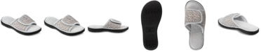 Isotoner Signature Women's Selena Sport Mesh Slide Slippers With Memory Foam