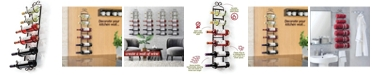 HomeIT Wall Mounted Towel and Wine Rack