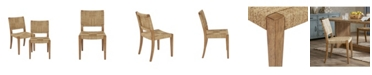 Harbor House Closeout Fillmore Rush Dining Chair, Set of 2