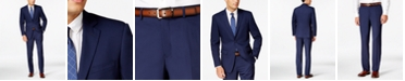 Perry Ellis Portfolio Slim-Fit Blue Twill Suit